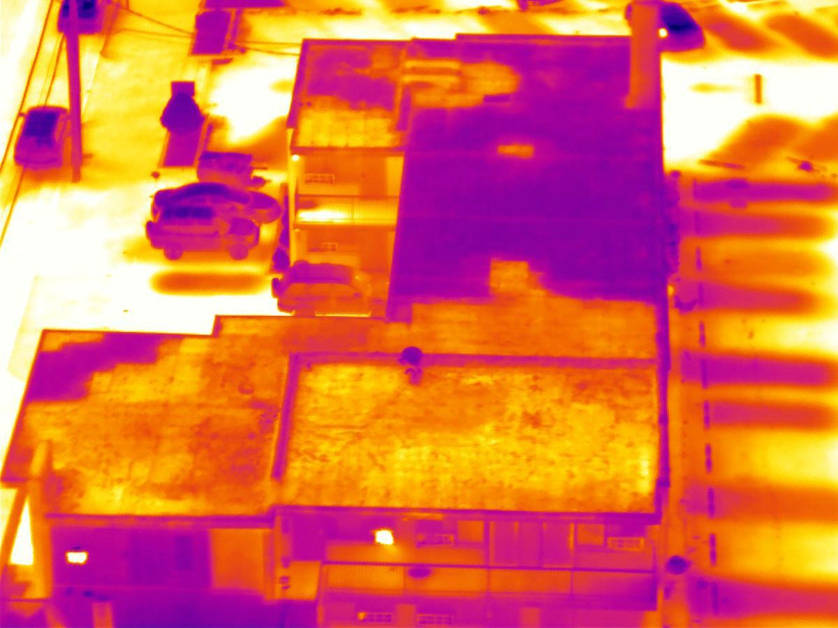 Thermographic Inspection Image